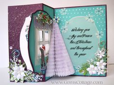 Gem's Cottage Blog - inside 'Frozen' Swing Card