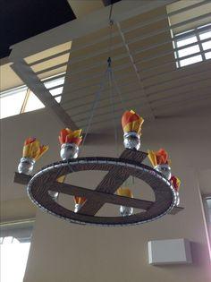 """Résultat de recherche d'images pour """"paper crafted medieval chandelier"""""""