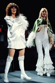 Anna and Frida of Abba