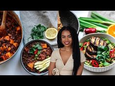 Super simple vegan meals with Iron in mind. One with a good source of Iron and one incredibly high in iron! Let me know if you want more Iron recipes. Vegan Foods, Vegan Meals, Vegan Recipes Easy, Whole Food Recipes, Vegetarian Recipes, Vegetarian Dish, Fast Recipes, Vegan Dishes, Veggie Recipes