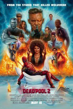 Deadpool 2 - Movie Poster - Ryan Reynolds, Josh Brolin - Free S/H Deadpool 2 Poster, Deadpool 2 Movie, Deadpool Wolverine, Deadpool Comics, Deadpool Funny, Daredevil, Ryan Reynolds, Marvel Heroes