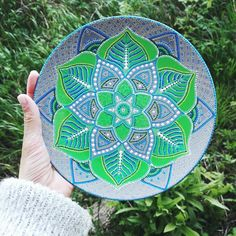 Ready and available!  Decorative plate, D/ 20cm. Acrylic painting, point to point.  For order please DM me.