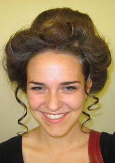 gibson girl hairstyles tutorials and ideas                                                                                                                                                                                 More