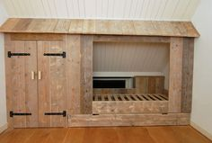 a cool built in bed for a boy Bedroom Alcove, Bedroom Loft, Girls Bedroom, Bedroom Decor, Built In Bed, Jungle Room, Kid Beds, My New Room, Girl Room
