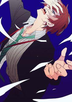 Doppo Kannonzaka from Hypnosis Mic Anime Oc, Anime Guys, Mc Lb, Anime Style, Character Art, Character Design, Rap Battle, Manga Boy, Mystic Messenger