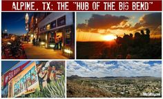 "Alpine, Texas is often called ""the Hub of the Big Bend"" because it's a great place to stop on your way to to the Big Bend region. But Alpine's charming downtown, spectacular scenery, and great events make it worthy of a longer stay.... Read more: http://blog.tourtexas.com/2015/07/15/alpine-tx-the-hub-of-the-big-bend/"
