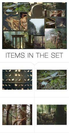 """Artemis"" by s1helena2b3 ❤ liked on Polyvore featuring art"