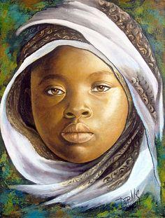 Niña de África 22 Dora Alis - Artelista.com - en