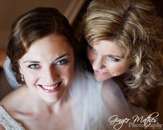 Beautiful bride and mother of the bride.