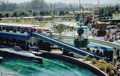 Disneyland Skyway above submarine lagoon
