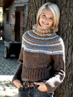 Yoke Pullover | Yarn | Free Knitting Pattern