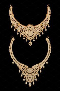 Necklace Set by Kailash Kumar on India Jewelry, Jewellery, Necklace Set, Fashion Beauty, Jewelry Necklaces, Diamond, Gold, Asia, Jewelery