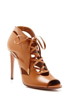 Jupiter Lace-Up Leather Sandals by Aquazzura - Pre-Fall 2014 (=)