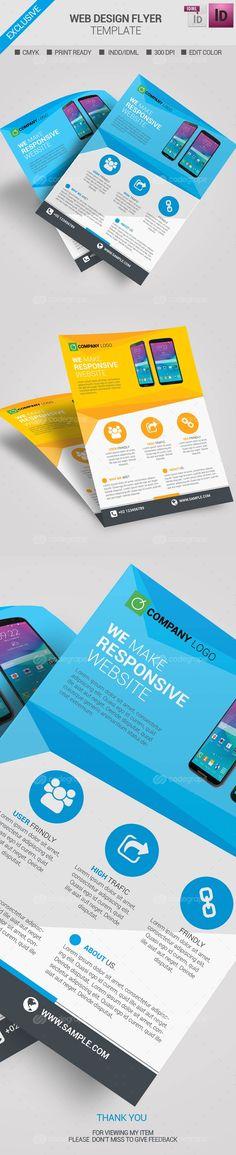 Web Design Flyer Template - http://www.codegrape.com/item/web-design-flyer-template/6823