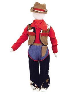 Western Cowboy Childrens Costume by Travis Dress Up By Design