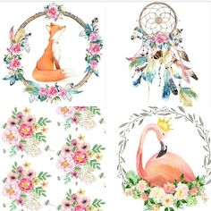 { D R E A M I N G } foxes and flamingos and feathers and flowers - the Fs never looked so pretty  can't wait to start creating with these beautiful fabrics  #quilt #handmade #heirloom #patchwork #customorder #nursery #nurserydecor #girlsroomdecor #girlsroom #foxes #flamingo #feathers #dreamcatcher #vintagestyle #boho #roses #vintagefloral #cotquilt #lapquilt #singlebedquilt #etsyseller #handmadeinmelbourne #patchwork #mygeorgieboy