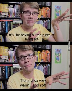 Hank Green on cats.