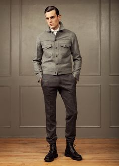 Todd Snyder Fall 2013a beastly outfit for gents.