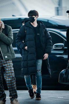 Jungkook ❤ BTS at Incheon airport heading to Nagoya, Japan #BTS #방탄소년단