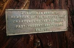 I was commissioned by the artists and craftsmen of the flathead to create this commemorative plaque for a picnic table they replaced in a local Park where their yearly events take place.  I designed the plaque using sketch up.  Then used my #ultimaker to print a template.  Then with my forge heated scrap brass and poured this.  #metalwork #weldporn #foundry #artistsandcraftsmenoftheflathead #plaque #madeinmontana #design #3dprinting #3dprint #metalart #commission #park #picnic…