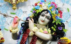 To view Gopinath Close Up Wallpaper of ISKCON Chowpatty in difference sizes visit - http://harekrishnawallpapers.com/sri-gopinath-close-up-wallpaper-150/