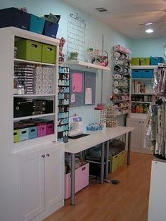 scrapbooking/craft room... #scrapbookcrafts