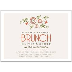 b816f9f1ee006fa4d14667f857a68519 brunch invitations dinner ideas rise and dine post wedding breakfast brunch invitation celebrate,Wedding Breakfast Invitations