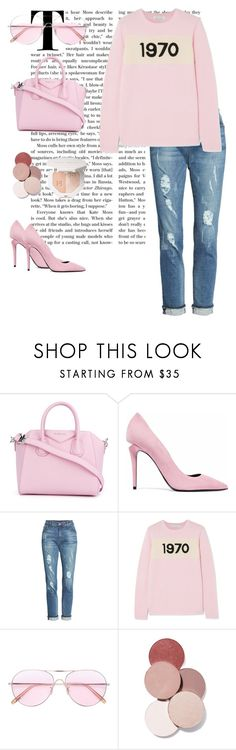 """""""1970"""" by fleurmpeeters ❤ liked on Polyvore featuring Givenchy, Alexander Wang, KUT from the Kloth, Bella Freud, Oliver Peoples and LunatiCK Cosmetic Labs"""