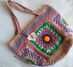 Hippie Chic, Crochet Top, Crochet Bags, My Bags, Boho, Projects To Try, Blanket, Knitting, Women