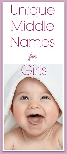 Best original middle names for baby girls