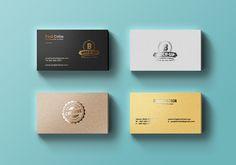 TweetSumoMeFriends, today's design resource is a set of 4 metallic foil business…