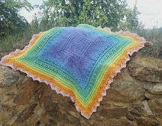 Crochet baby blanket - pattern can find on raverly