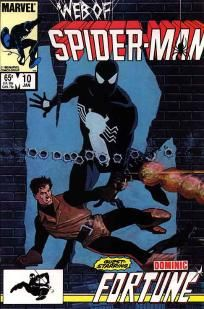 Web of Spider-Man #10 Danny Fingeroth Jim Mooney VF / NM ---> shipping is $0.01 !!!