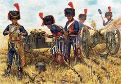 Rava - French Horse Artillery loading