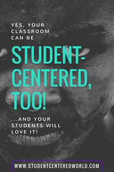 Student-Centered Learning is all about student buy-in.  No matter what your classroom looks like, you can ABSOLUTELY manage this method in your classroom.