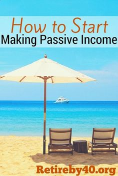 You need passive income to retire early. We are still working on it, but we will be Financial Independent someday.