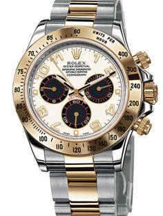 Rolex 116523 ibka Daytona COSMOGRAPH. #rolex - золотые - швейцарские мужские наручные часы