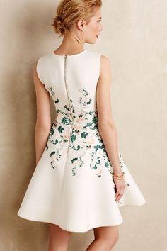 Sweetheart Roses Dress - anthropologie.com
