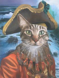 Pirate-Cat-Oil-Painting-Splendid-Beast