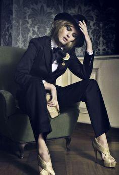 Iza Olak by Signe Vilstrup for Vanity Fair Italy, March 2009