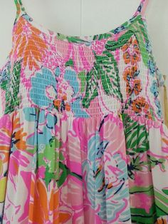 Lilly Pulitzer Target Maxi Dress Nosie Posey Maxi Dress XL girl's NWT #LillyPulitzer
