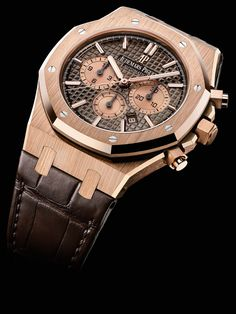 84879a770de SIHH 2017 - Audemars Piguet celebrates 20 years of Royal Oak Chronograph  watches. A new line-up of beautiful editions!