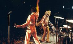 The Who, Pete & Roger, Third Isle of Wight Festival ~ August 29th, 1970 (photos courtesy of Marc Starcke)