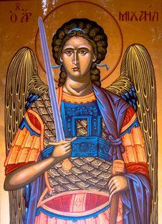 Archangel Michael #archangel, #archangelmichael, #bysantine, #iconography, #greekiconography, #evapolart, #handmade, #handpainted, #handcrafted