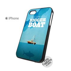 Jaws Classic Movie quotes Phone Case For Apple, iphone 4, 4S, 5, 5S, 5C, 6, 6 +, iPod, 4 / 5, iPad 3 / 4 / 5, Samsung, Galaxy, S3, S4, S5, S6, Note, HTC, HTC One, HTC One X, BlackBerry, Z10