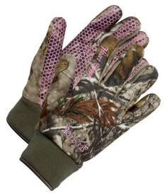 women's camo hunting gloves.