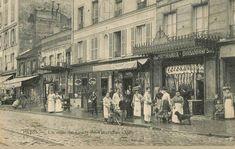 Les anciennes rues de Paris | cours de Vincennes | 12ème et 20ème arrondissement