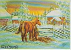 Terho Peltoniemi Moose Art, Heaven, Painting, Animals, Animais, Sky, Animales, Animaux, Heavens