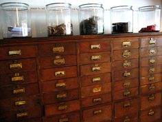 Someday I will have a card catalogue.