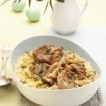 Ricetta Agnello con riso allo zenzero e curry | Donna Moderna